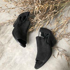 Eileen Fisher Suede Heels size 8